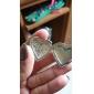 Heart-shaped Metal Pattern Photo Frame Pendant (1 Pc)
