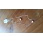 Ожерелье Ожерелья с подвесками Бижутерия Для вечеринок / Повседневные Мода Сплав Серебряный 1шт Подарок