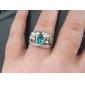 hobbit aragorn anel vintage retro o hobbit antigo de prata cristal verde para homens e mulheres atacado