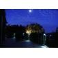 야외 태양 강화 된 3 LED 정원 거터 벽 울타리 로비 빛 램프