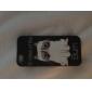 Pour Coque iPhone 5 Motif Coque Coque Arrière Coque Chat Dur Polycarbonate iPhone SE/5s/5