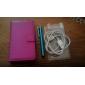 Для Кейс для HTC Бумажник для карт / Кошелек / со стендом / Флип Кейс для Чехол Кейс для Один цвет Твердый Искусственная кожа HTC