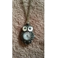 Unisex Lovely Owl Style Vintage Alloy Quartz Analog Necklace Watch Cool Watches Unique Watches