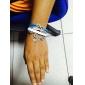 Femme Charmes pour Bracelets Bracelets Bracelets en cuir Basique Amitié Mode Fait à la main Personnalisé Multicouches bijoux de fantaisie