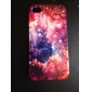 Flower and Space Star Pattern PC Hard Case for iPhone 4/4S