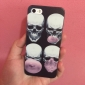 Skull Blowing Bubbles Pattern Hard Case for iPhone 5/5S