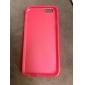 Для Кейс для iPhone 6 / Кейс для iPhone 6 Plus Полупрозрачный Кейс для Задняя крышка Кейс для Один цвет Мягкий TPUiPhone 6s Plus/6 Plus /
