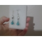 Women's Drop Earrings Dangle Earrings Earrings Turquoise Bohemian Statement Jewelry Vintage Synthetic Gemstones Turquoise Ball Jewelry For