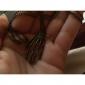 Женский Ожерелья с подвесками Винтаж Ожерелья Заявление ожерелья Сплав В форме черепа Мода Заявление ювелирные изделия Бижутерия