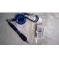 Montanhismo fivela Fio Grip Pen esferográfica (cor aleatória)