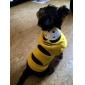 Собака Костюмы Толстовки Инвентарь Платки и шапочки Одежда для собак Косплей Хэллоуин Вышивка Желтый Костюм Для домашних животных