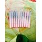 10PCS 2in1 Colorful Dazzling Shimmer Eye Shadow Pen&Eyeliner Set