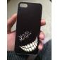 아이폰 5 / 5S에 대한 아이폰 7 플러스 미친 미소 얼굴 패턴 하드 케이스