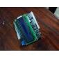 Protetor de Teclado LCD 1602 para Arduino com Luz Branca e Fundo Azul