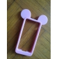 Mouse Ear Soft Silicon Soft Case for iPhone 5/5S  (Assorted Colors)