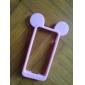 마우스 귀 아이폰 5 / 5S 소프트 실리콘 소프트 케이스 (모듬 색상)