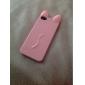 Soft Case mignon Solid Color silicone pour iPhone 5/5S