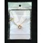 Женский Ожерелья с подвесками Стразы Сплав Мода бижутерия Бижутерия Назначение Для вечеринок Повседневные