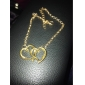 Anklet/Bracelet Alloy Unique Design Love Fashion Heart Jewelry Jewelry For Party Daily Casual Christmas Gifts