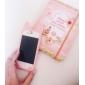милый кот уха кремния мягкий чехол для iphone 4 / 4s (ассорти цветов)