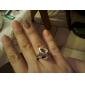 Ring Wedding / Party / Daily / Casual Jewelry Zircon / Platinum Plated Women Statement Rings6 / 7 / 8 / 9 Purple