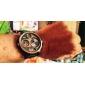 SKMEI Homens Relógio Militar Relógio de Pulso Relogio digital Quartzo Digital Quartzo Japonês LCD Calendário Impermeável Três Fusos