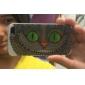 gato grande sorrindo padrão TPU caso de volta macio material de cobertura para iPhone 5 / 5s