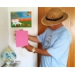 vente chaude ultra-mince réveil Cas intelligent stand flip pour iPad air (couleurs assorties)