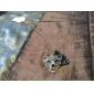 Versão coreana do flash diamante requintado colar de diamantes tigre camisola longa cadeia animais N380