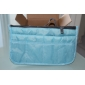 Women's Travel Portable Multifunctional Mesh Cosmetic Makeup Bag Storage Makeup Storage Handbag Organizer(8 Color Choose)