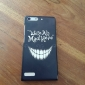 Smile Face Pattern PC Hard Case for Huawei G6