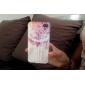 iPhone 4/4S를위한 오일 페인트 올리 종 뒤 케이스