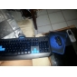 Luminous Optical High-speed USB Wired Gaming Keyboard+Mouse(1600DPI) Suit