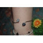 Korea Style Silver Love Cuff Bracelet(1pc) Christmas Gifts