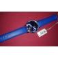 SKMEI Homens Relógio de Pulso Quartzo Quartzo Japonês Calendário Impermeável Couro Banda Preta Azul Marrom