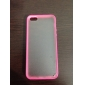 Frosted Back TPU Bumper Case for iPhone 5/5S