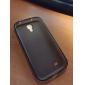 couleur TPU ensemble solide et transparente de cas de non-dérapant étui pour mini / i9190 Samsung Galaxy S