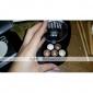 1PCS 방수 액체 아이 라이너 펜&1PCS 밝은 스테레오 5 색 ubub 로스트 눈 그림자 분말 금속 쉬머