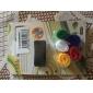 6 piezas ingeniosas portacables sujetadores de gancho y lazo banda de alambre de almacenamiento de escritorio