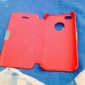 PU Leather & PC Cover Case for iPhone 4/4S (Assorted Colors)
