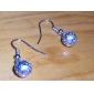 drop boucles d'oreilles bijoux de bijoux en alliage pour le style élégant quotidien de fête