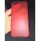 ultra luxo tampa traseira translúcida fina para iphone 6 (cores sortidas)
