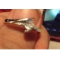 Ring Wedding / Party / Daily / Casual / Sports Jewelry Alloy / Copper / Platinum Plated Couple RingsAdjustable Silver