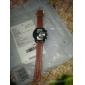 Муж. Армейские часы Спортивные часы Кварцевый Кожа Группа Черный Оранжевый Коричневый