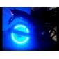 최고 밝은 파란색 번쩍이는 LED 타이어 빛 (2 팩)