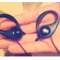 버스 정류장과-109 귀고리 스포티 한 헤드폰 이어폰