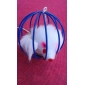Pet DogshingTM Ball Shape Cage with Little Mouse Toys for Cat (Red,Yellow,Green,Purple,Blue,Rainbow)