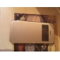 смарт-сенсорный экран вид пу кожаный чехол для iphone5c