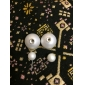 Women's Stud Earrings Basic Simple Style Costume Jewelry Alloy Circle Ball Jewelry For Party Daily Casual