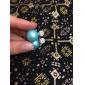 여성 스터드 귀걸이 패션 모조 다이아몬드 합금 보석류 제품 파티 일상 캐쥬얼